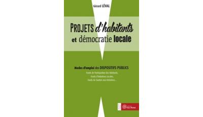 Projets d'habitants et démocratie locale par Gérard LÉVAL
