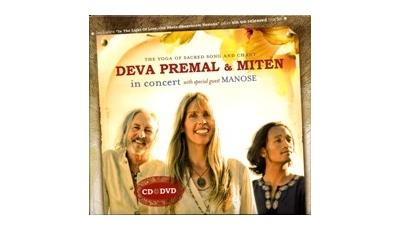Deva Premal & Miten en concert - Avec Manose (CD-DVD)