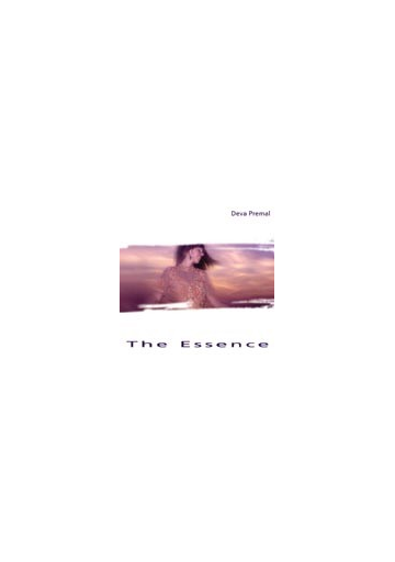 The Essence - Livret anglais (Deva Premal)