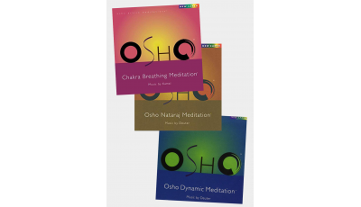 Pack 3 CD Osho Meditation 2 par  DEUTER,  KAMAL