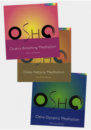 Pack 3 CD Osho Meditation 2