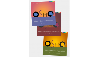 Pack 3 CD Osho Meditation 1 par  OSHO,  DEUTER,  KARUNESH