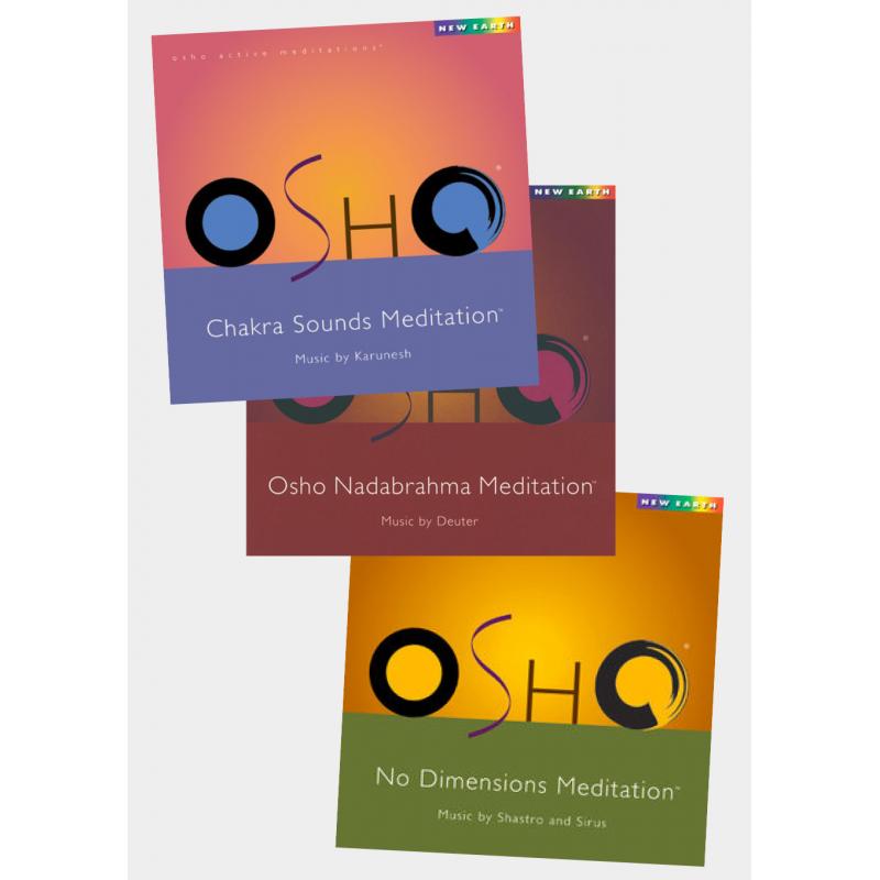Pack 3 CD Osho Meditation 1