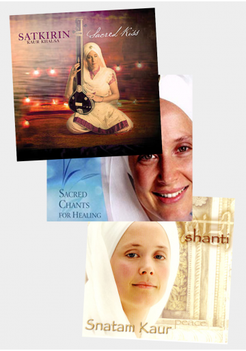 Pack 3 CD Snatam Kaur