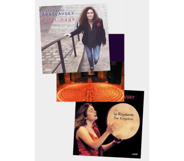 Pack 3 CD Catherine BRASLAVSKY