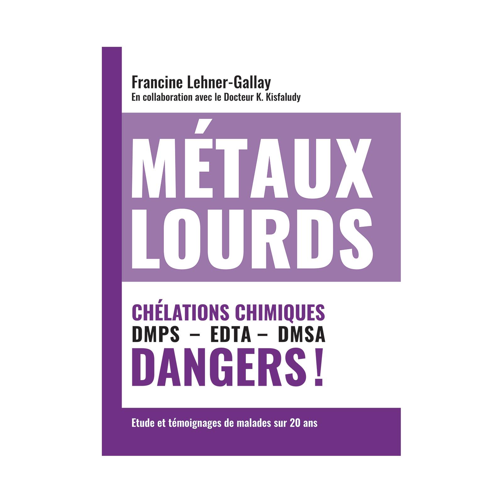 Métaux lourds : chélations chimiques
