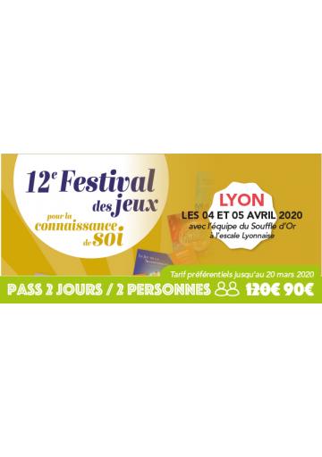 Festijeux de Lyon - Forfait 2 jours / 2 personnes