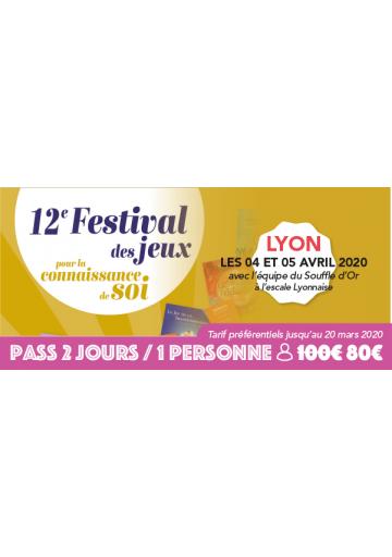 Festijeux de Lyon - Forfait 2 jours / 1 personne