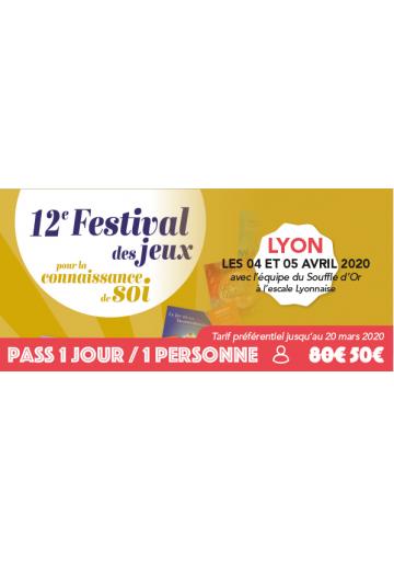 Festijeux de Lyon - Forfait 1 jour / 1 personne