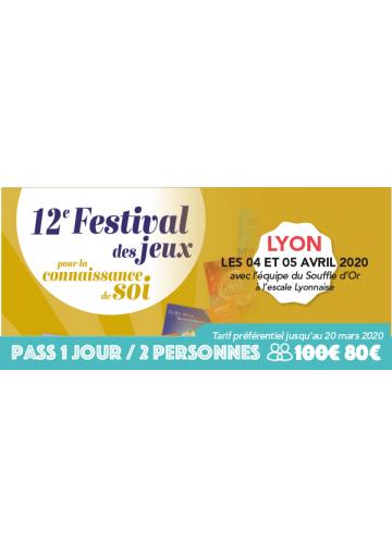 Festijeux de Lyon - Forfait 1 jour / 2 personnes