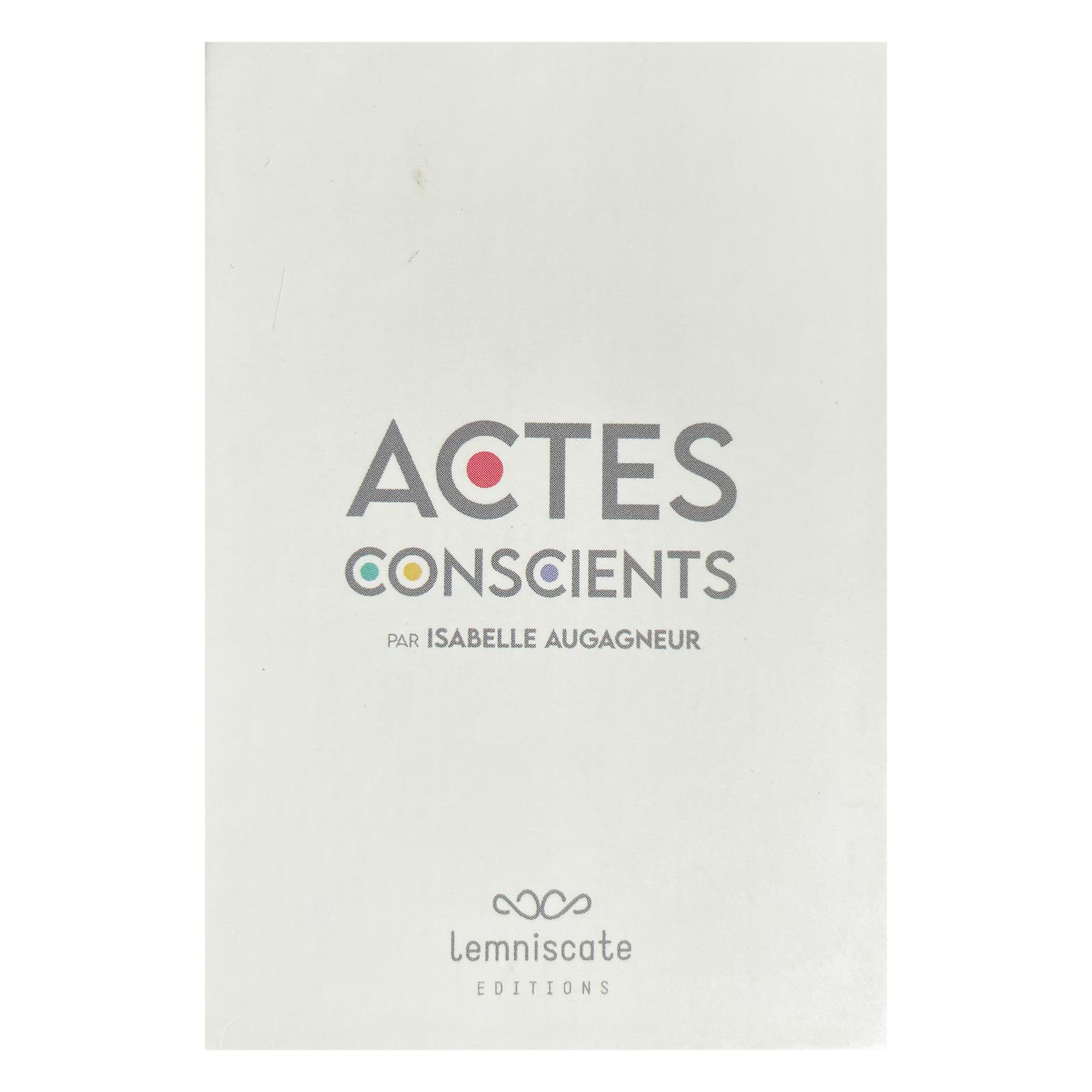 Actes conscients