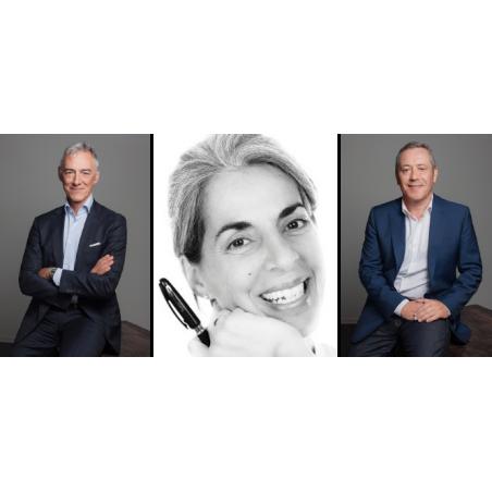 Anna Edery, Arnaud Constancias et Manuel de Sousa