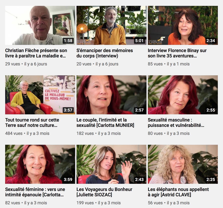 web tv du développement personnel le Souffle d'Or