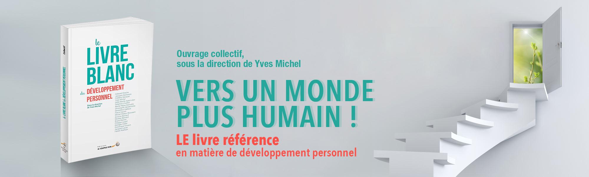 Nouveauté livre : Le livre blanc du développement personnel